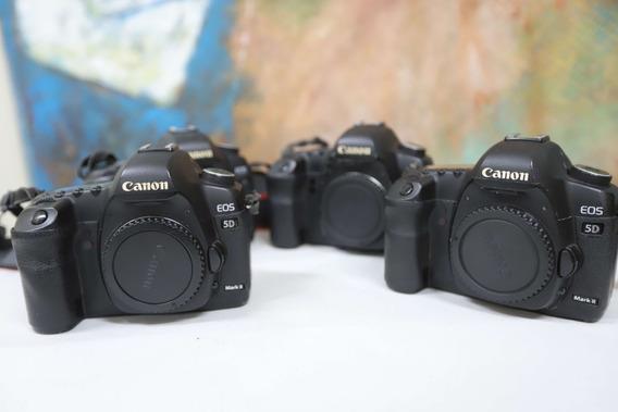 Canon - Câmera Fotográfica Eos 5d Mark Ii Canon - Corpo