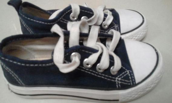 Zapato De Niño Tipo Converse