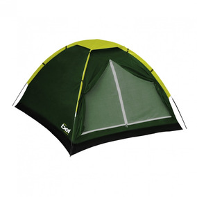 Barraca De Camping Igloo 3 Pessoas Bel Fix Verde Ja
