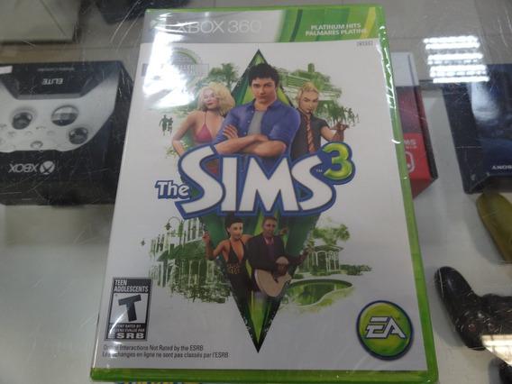 The Sims 3 Xbox 360 Midia Fisica Novo Lacrado