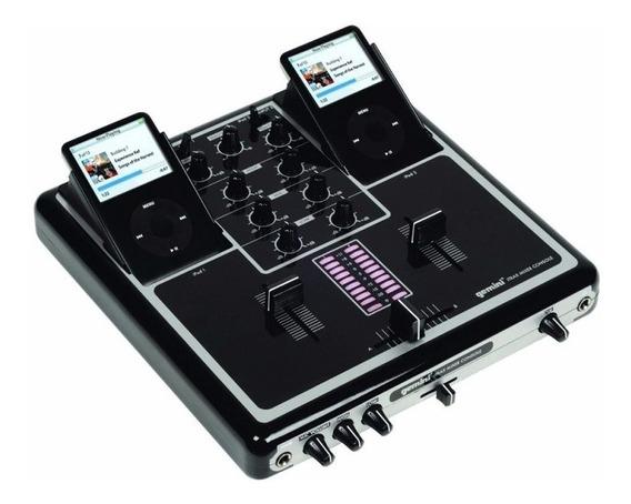 Dj Mixer P/ iPod E iPhone 2 Canais Gemini Itrax 110v Grátis