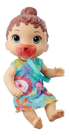 Nova Baby Alive Bebê Primeiros Sons Morena Hasbro