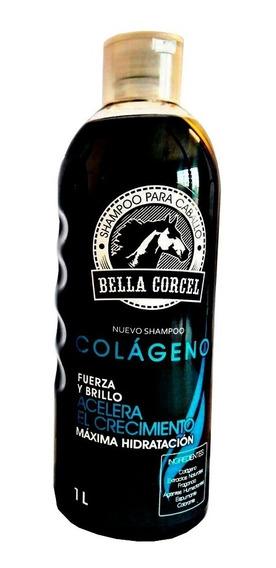 Shampoo Cola De Caballo Uso Humano Bella Corcel 1 Lt /k /sa