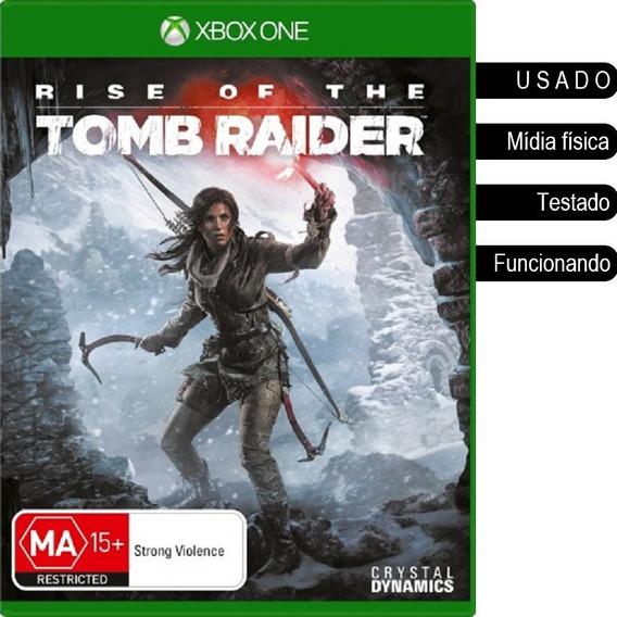 Rise Of The Tomb Raider Xbox One Usado Mídia Física