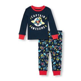 Pijama Childrens Place - 9 Meses - 2086242