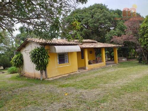 Imagem 1 de 30 de Chácara Com 2 Dormitórios À Venda, 7000 M² Por R$ 250.000,00 - Bairro Da Barra - Sarapuí/sp - Ch0111