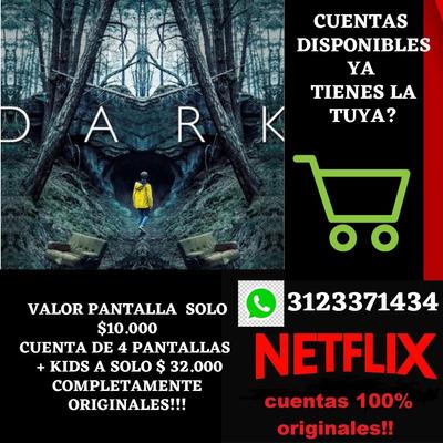 Servicio De Netflix Pagas Cuando Activas Tu Cuenta