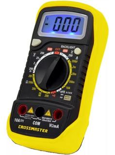 Multimetro Digital Tester Crossmaster 600v Profesional