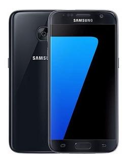 Samsung Galaxy S7 G930f Preto 32gb Original Vitrine
