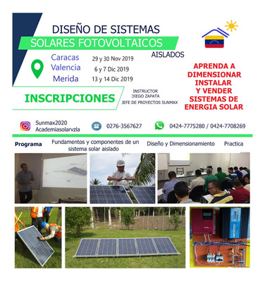 Paneles Solares, Curso Presencial Diseño E Instalación