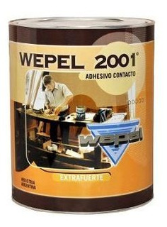 Adhesivo Doble Contacto Wepel 2001 0,75kg 18 Cuotas S/int