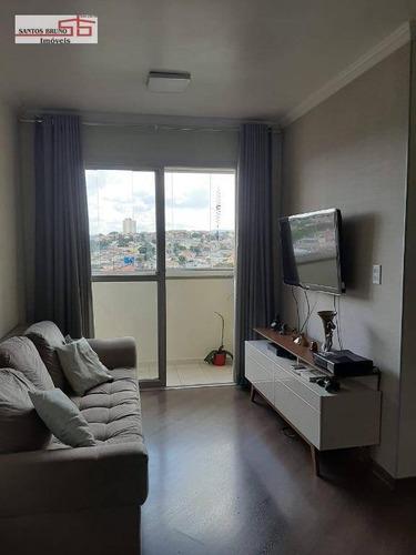 Apartamento Com 2 Dormitórios À Venda, 56 M²- Freguesia Do Ó - São Paulo/sp - Ap3960