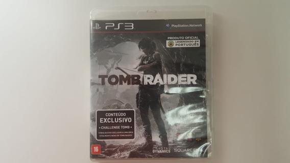 Jogo Tomb Raider 2013 - Ps3 - Original Fisica
