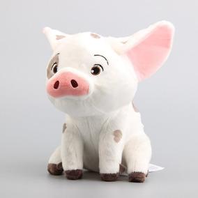 Pua Porco Pua Pelúcia Porquinho Moana Original Disney 22cm