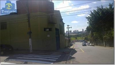 Galpão Comercial À Venda, Bairro Jardim, Santo André. - Ga0035