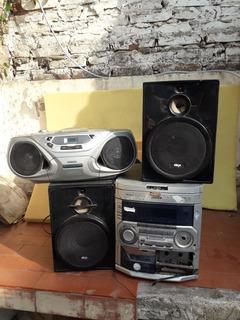 Parlantes - Equipos De Audio En Combo. Leer Descripción