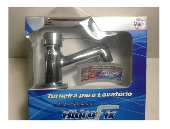 Torneira Temporizada P/ Banheiro Lavatório Inox Hidromatic