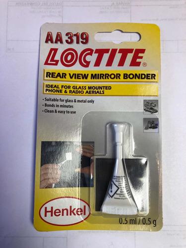 Imagen 1 de 2 de Loctite Kit Pegamento Espejo Retrovisor Aa319 Henkel