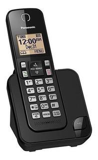 Telefone S/ Fio Panasonic Tgc350lbb 110v C/bina Viva Voz Nf