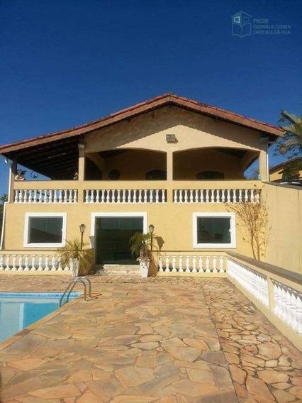 Sítio Com 3 Dormitórios À Venda, 1350 M² Por R$ 700.000 - Ville Saint James Ii - Campo Limpo Paulista/sp - Si0001