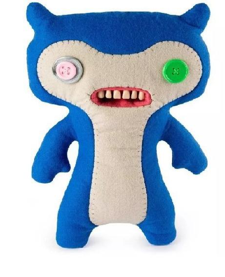 Fuggler Monstro Pelúcia Grande Azul