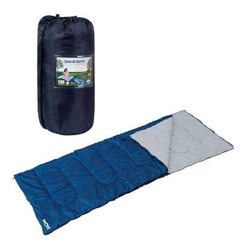 Saco Para Dormir Tamanho Adulto Azul Confortavel Resistente
