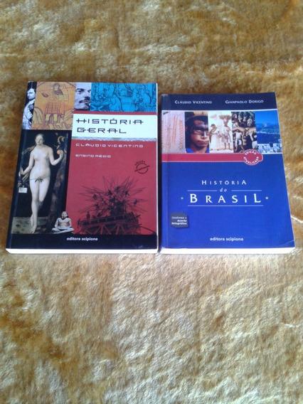 História Geral E Do Brasil (cláudio Vicentino E Gianpaolo)