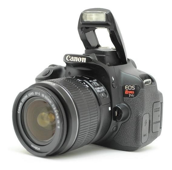 Canon T4i + Ef 18-55mm Só 4mil Clicks = T3 60d 70d T5 T6 T7