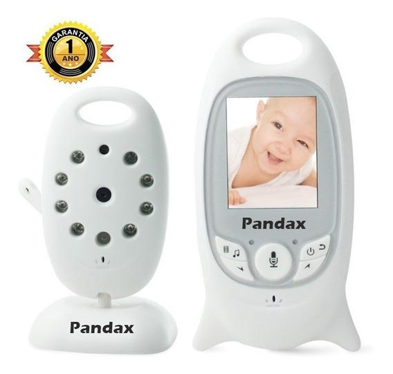 Baba Eletronica Pandax Com Video Monitor Lcd Dia Noite 1 Ano