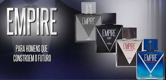 Perfume Empire Tradicional, Vip, Intense Ou Sport 100ml