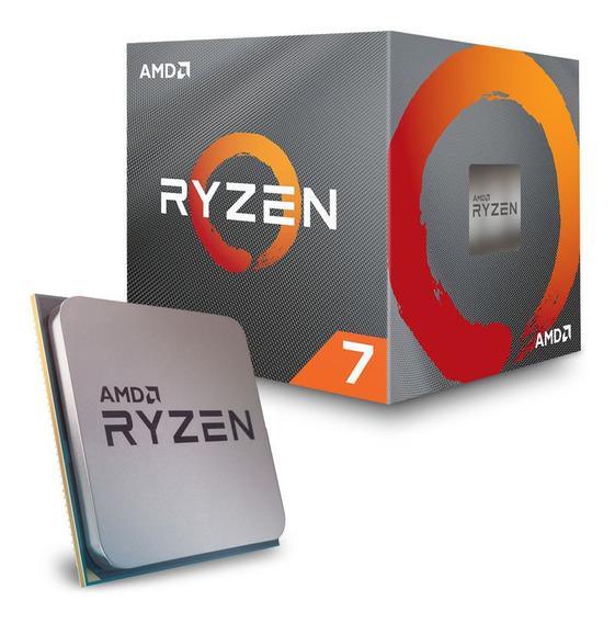 Processador Amd Am4 Ryzen R7 3700x 4.4ghz/36mb/3.6ghz.
