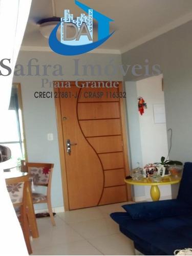 Apartamento Bem Arejado, Com Sacada Gourmet, Moveis Planejados Em Todos Os Cômodos, No Bairro Guilhermina - Ap00854 - 68563513