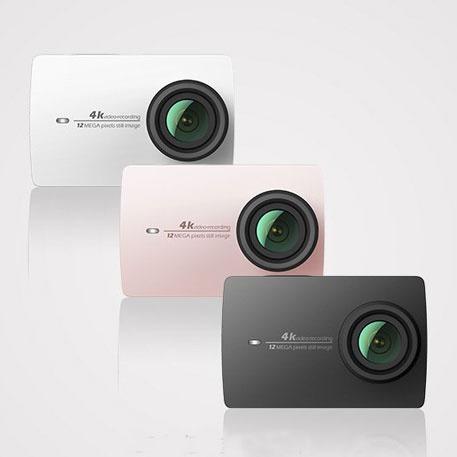Xiaomi Yi 2 4k - 3 Cores Disponiveis