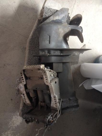 Rabeta Com Power Trim Completo Motor De Popa Mercury 90 Hp