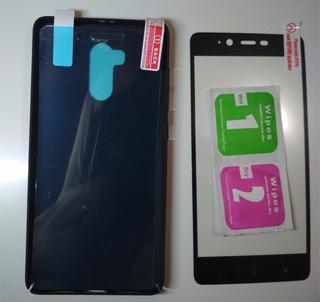 Case E Pelicula Full Cover Black P/ Redmi 4 Pro