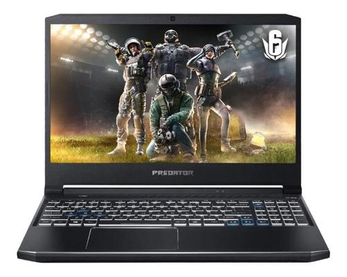 """Imagem 1 de 4 de Notebook Acer Predator Helios 300 PH315-53 preta 15.6"""", Intel Core i7 10750H  16GB de RAM 512GB SSD, NVIDIA GeForce RTX 2060 144 Hz 1920x1080px Windows 10 Home"""