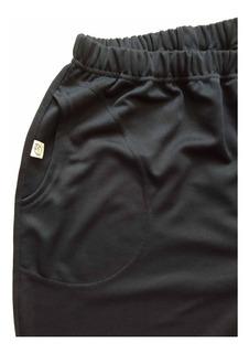 Pantalon Jogging Unisex Acetato Marino Hasta Talle Especial