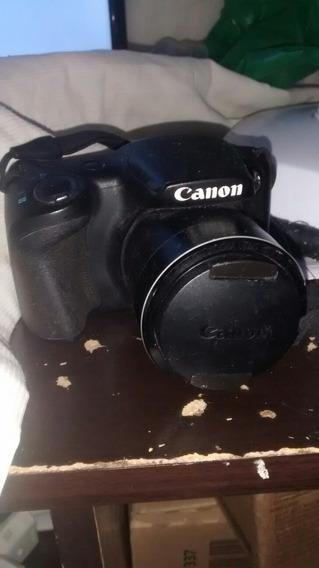Câmera Fotográfica Semi Profissional Marca Canon Sx400 Is