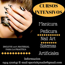 Cursos Manicura -pedicura Spa Y Sistemas Artificiales