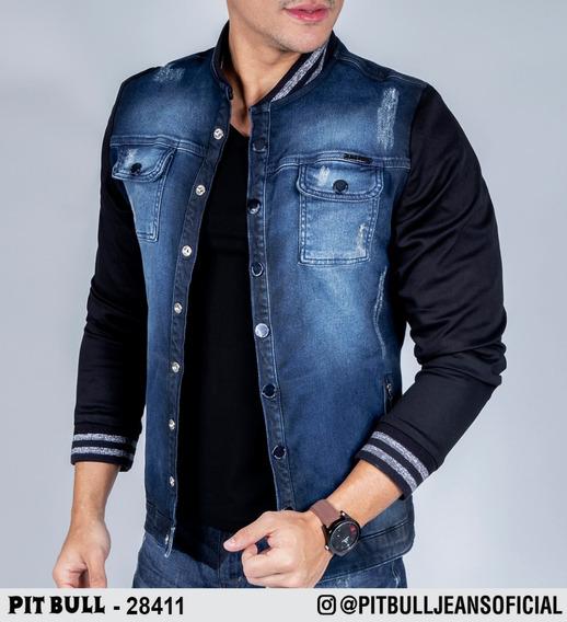 Jaqueta Masculina Jeans Pit Bull 28411