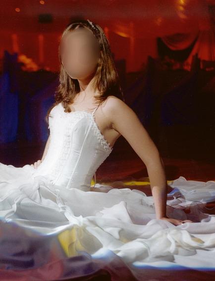 Vestido De 15 Años Color Ivory
