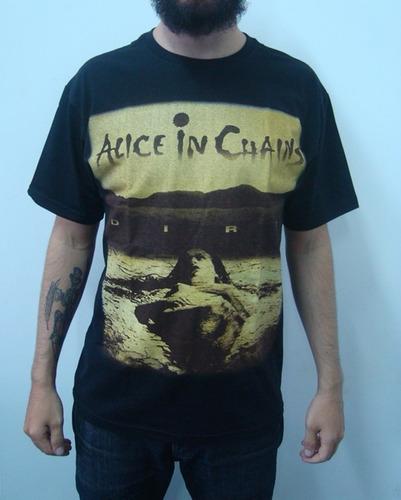 91993d542d Camisetas Alice In Chains Dirt - Camisetas e Blusas com o Melhores ...