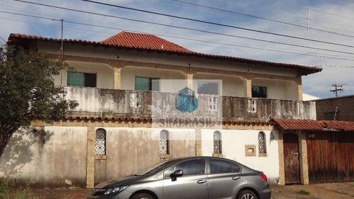 Imagem 1 de 23 de Casa Com 4 Quartos 2 Suites À  Venda, 309m² Por R$ 650.000 - Jardim Eulina - Campinas/sp - Ca0946