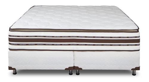 Sommier Arco Iris Foam Nature Pillow 2 plazas 190x130cm blanco