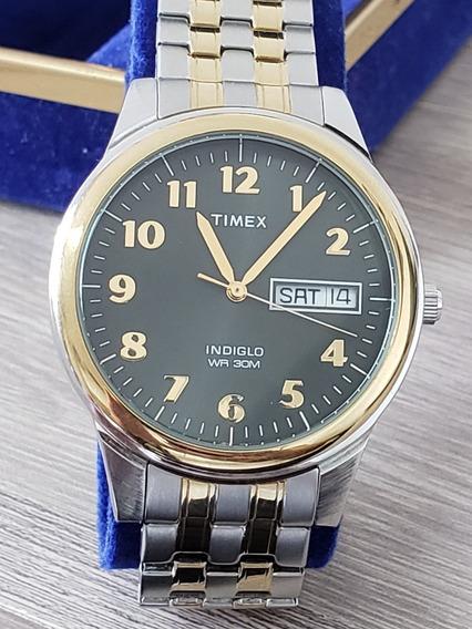 Relogio Timex Indiglo Wr 30m Masculino