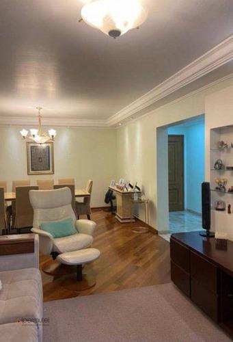 Imagem 1 de 30 de Apartamento Com 3 Dormitórios À Venda, 140 M² - Moema Pássaros - São Paulo/sp - Ap3365