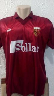 Camisa Metz França Bordô Puma G 1995