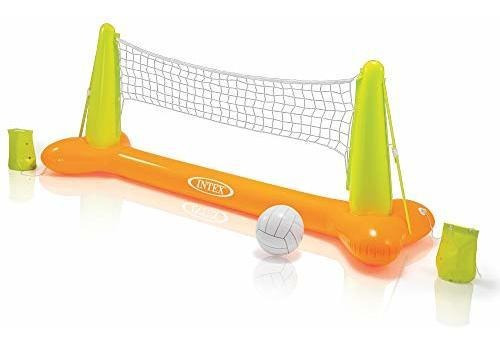 Juego De Voleibol Acuatico Para Piscinas Por Intex