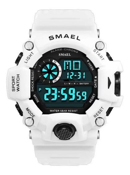 Relógio Esportivo Masculino Smael Digital 1385 Prova D