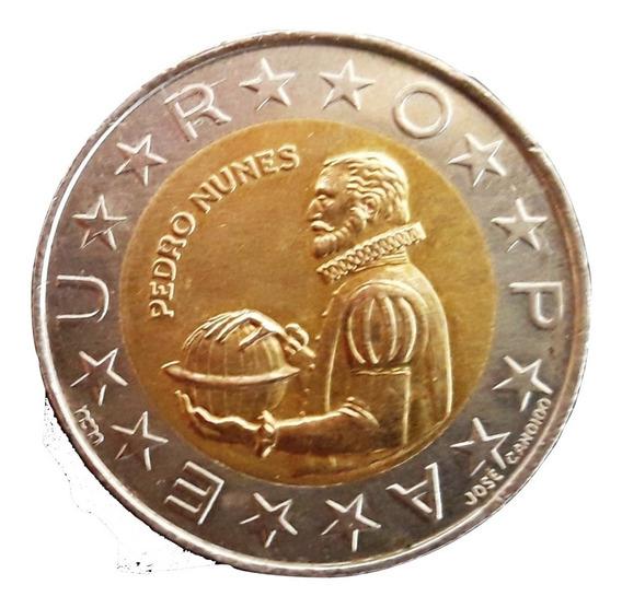 Portugal Moneda De 100 Escudos Del Año 1990 - Bimetálica